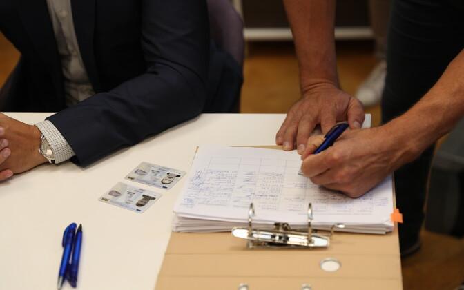 Подавать списки кандидатов Таллиннской избирательной комиссии можно было до 5 сентября.