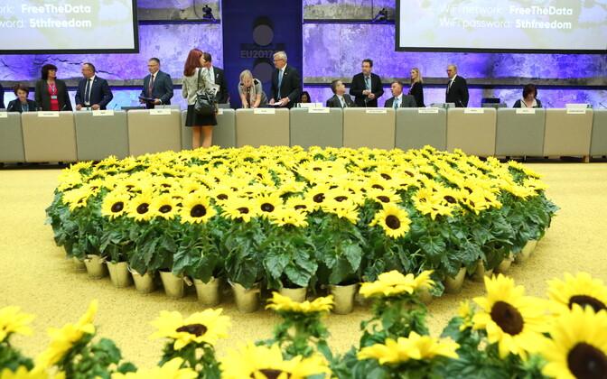 Informal AGRIFISH meeting at Tallinn Creative Hub on Tuesday. Sept. 5, 2017.