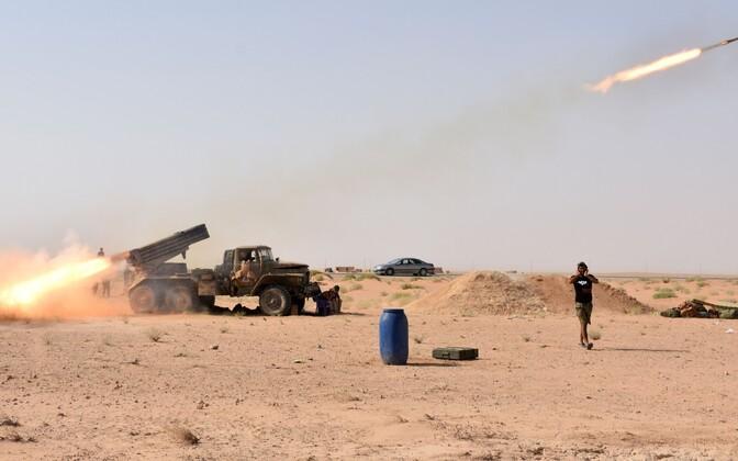 Süüria sõjaväelased.