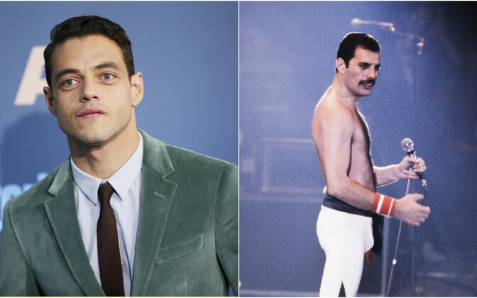 Rami Malek ja Freddie Mercury