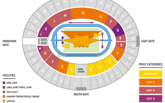 Berliini EM-i staadioni plaan