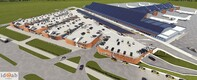 Renders of the planned Tallinn Airport parking garage.