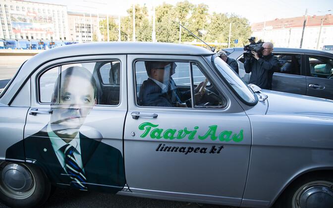 Во время избирательной кампинии Таави Аас использовал