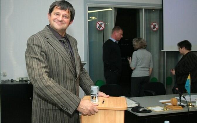 Депутат городского собрания Федор Овсянников.