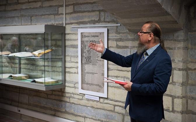 """""""Pühakiri – käsikirjast emakeelse Piiblini"""" näituse avamine"""