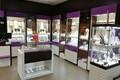 Ювелирный магазин в Нарве после ограбления