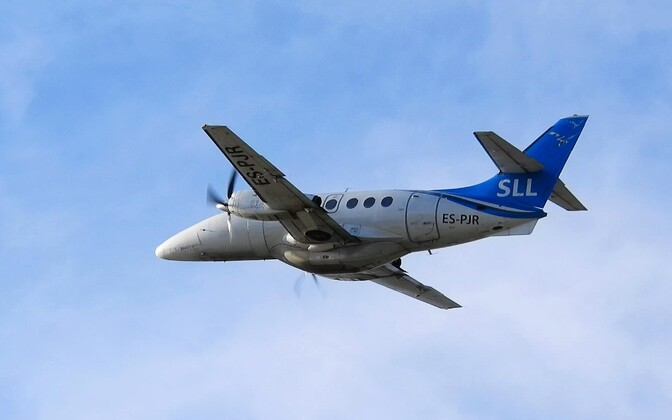 Самолет Transaviabaltika