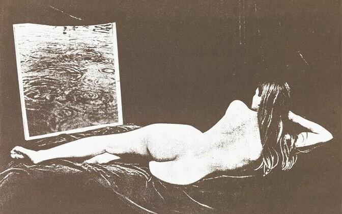"Litograafia ""Natüürmort peegliga. Autoportree Venusena"" (1979, EKM)"