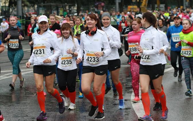 Tervisejooksjad SEB Tallinna Maratoni Sügisjooksul