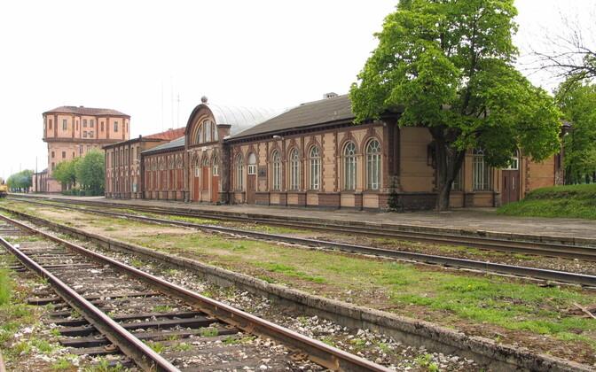 Тапа - крупнейший железнодорожный узел в Эстонии.