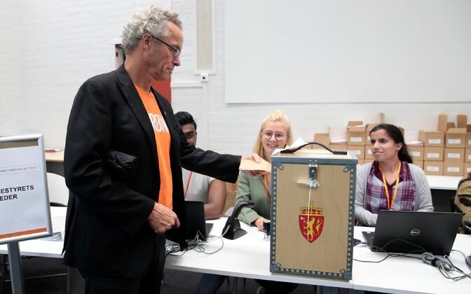 Valimised Norras.