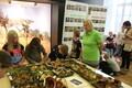 Выставка грибов в музее природы в Тартуском университете.
