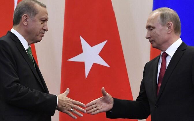 Recep Tayyip Erdoğan ja Vladimir Putin