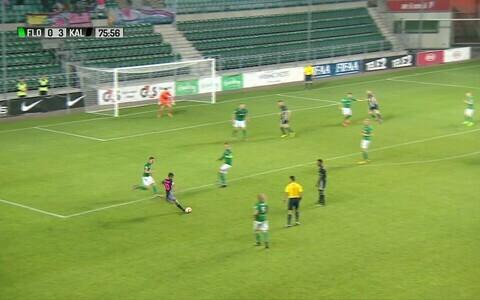 Carlos Pereira iluvärav vormistas Flora - Kalju mängus seisuks 0:4