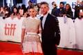 Näitlejad Jamie Bell ja Kate Mara