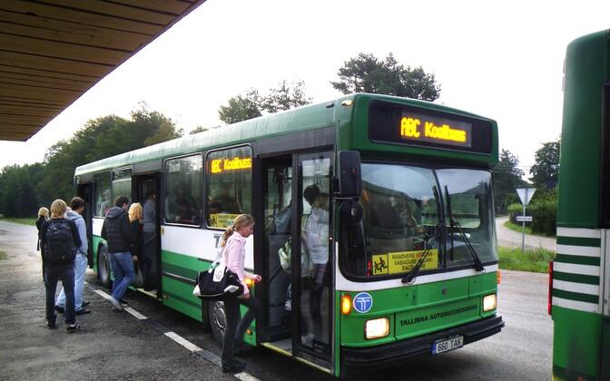 Школьный автобус. Иллюстративная фотография.