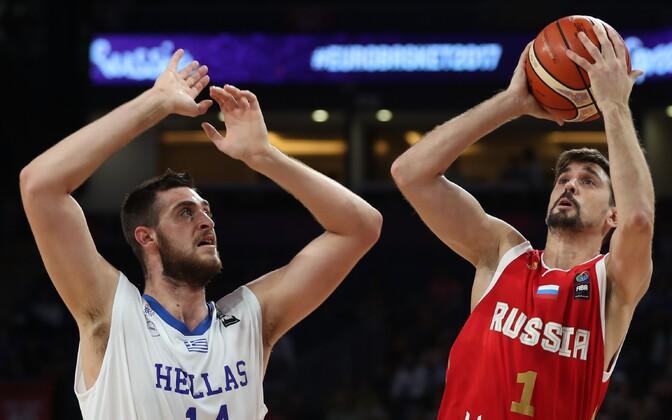 Алексей Швед (справа) стал лучшим в составе сборной России