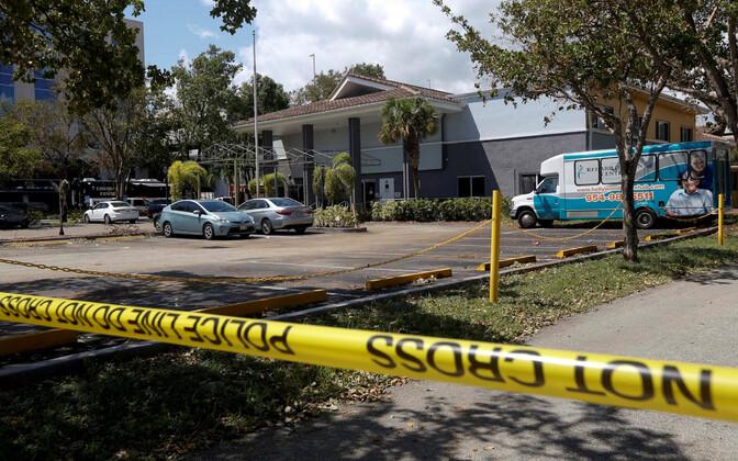 Hollywood Hillsi hooldekodu, kus orkaan Irma ajal suri kaheksa inimest.