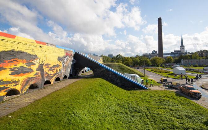 Граффити на стенах Горхолла