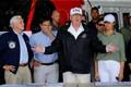 President Donald Trump saabus abikaasaga Floridasse.