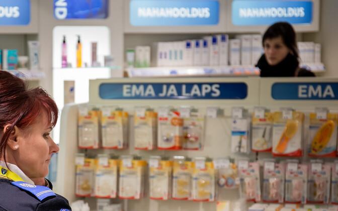 Benu apteek Tallinnas.