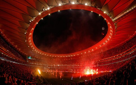 Madridi Atletico kodumängud hakkavad toimuma 68 000 inimest mahutaval Metropolitanol.