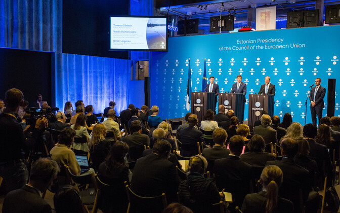 The EU's finance ministers met in Tallinn on Sep. 15 and 16, 2017.