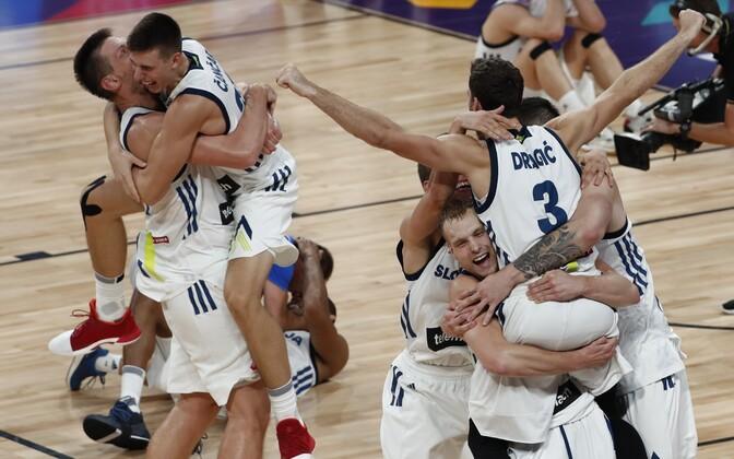 Sloveenia korvpallikoondis tuli Euroopa meistriks
