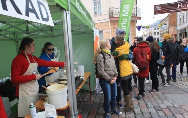 Pannkoogihommik Tartu tudengipäevadel