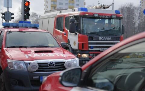 Эстонские пожарные.