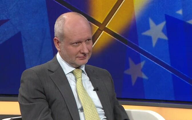 Eesti eriesindaja ELi juures Matti Maasikas.