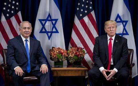 Iisraeli peaminister Benjamin Netanyahu ja USA president Donald Trump.