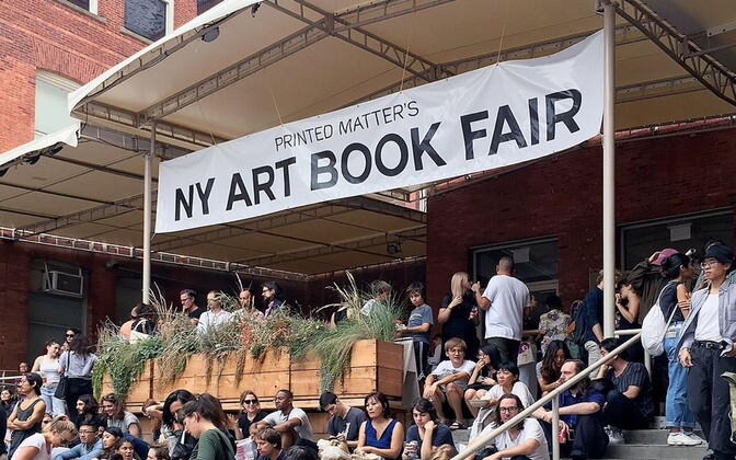 New York Art Book Fair'i melu MoMA PS1 hoovis septembris 2016