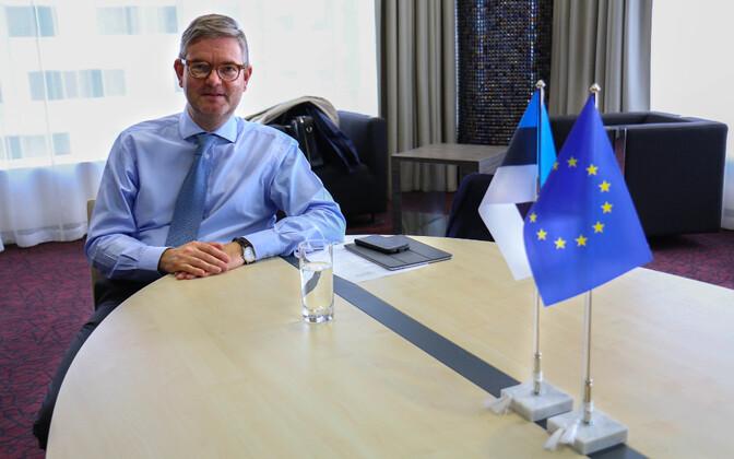 Euroopa Komisjoni volinik Julian King külastas Tallinnat eesistumise raames toimunud küberturvalisuse konverentsil.