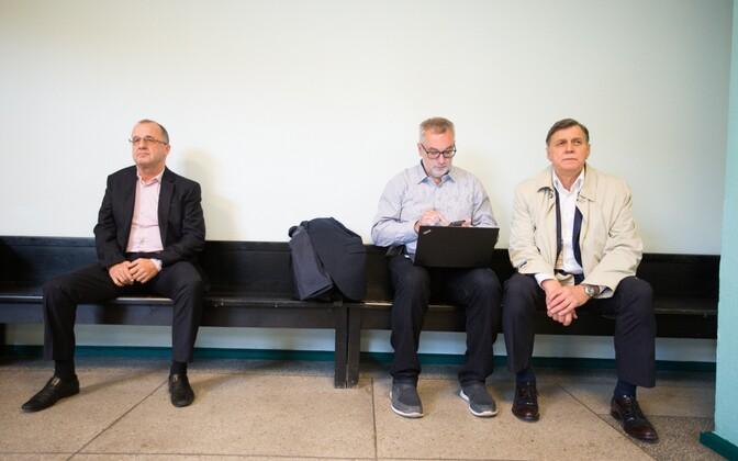 Ain Seppik, Toomas Sepp ja Priit Willbach kohtus