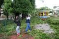 Orkaan Maria purustused Guadeloupe'il.