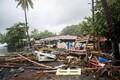 Orkaan Maria purustused Martinique'il.