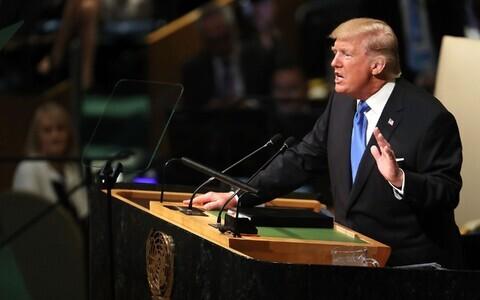 Трамп выступил на Генассамблеи ООН
