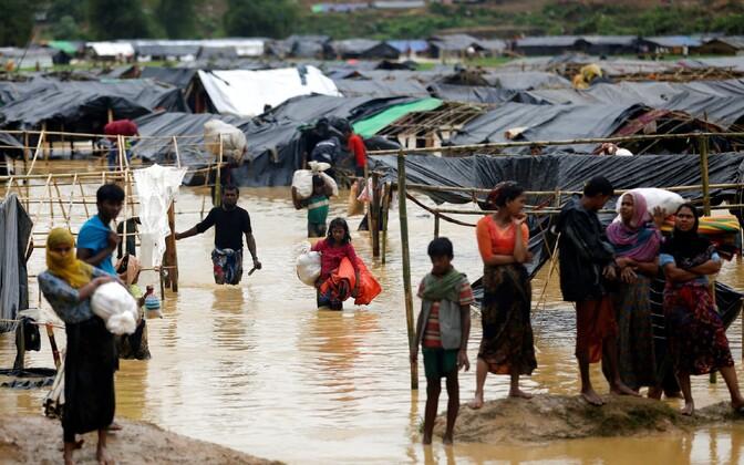 Bangladeshi põgenenud rohingjad.