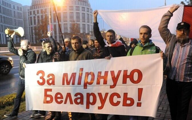 Противники участия Белоруссии в учениях