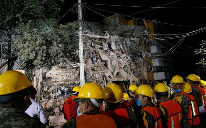 Päästetööd Mexico Citys