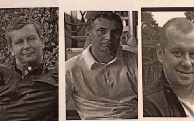 Денис Вястрик, Игорь Израэлян и Игорь Клещенок.
