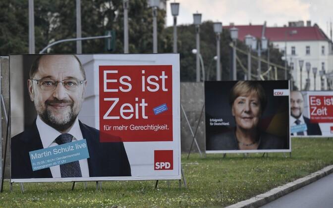 Valimisplakatid Berliinis.