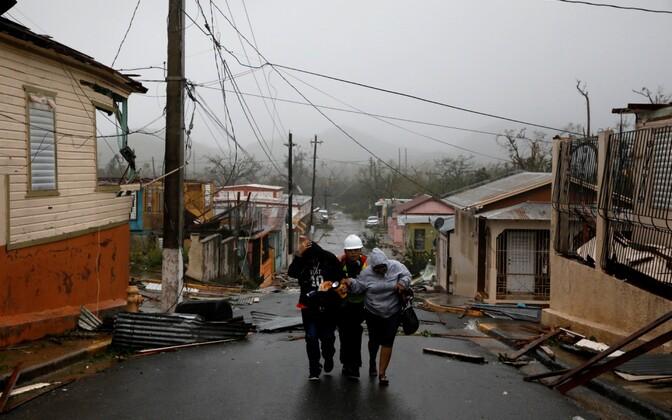 Orkaan Maria Puerto Ricos.