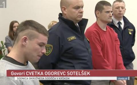 Ales Olovec ja Martin Kovac politseinike vahel kohtus.