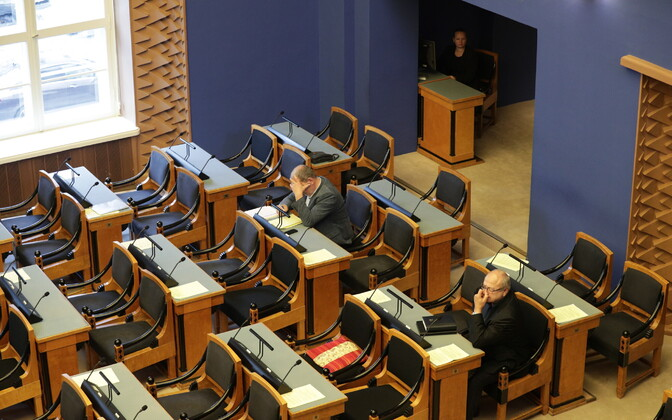Riigikogu istung.