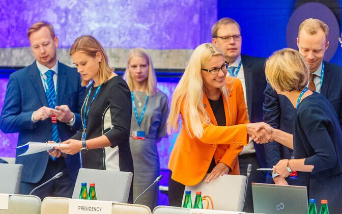 Energeetika- ja transpordiministrid arutasid Tallinnas energiaturu digilahendusi ja lennuühendusi Euroopa äärealadel.