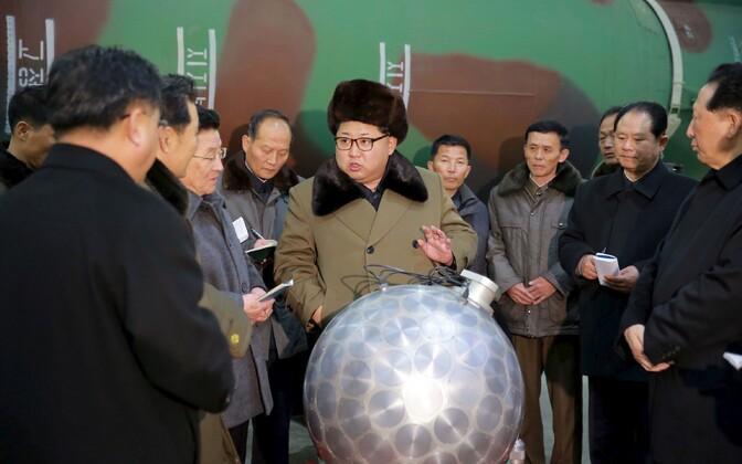 SIPRI arvates pole Põhja-Koreal laskevalmis tuumarelvi, vaid 10-20