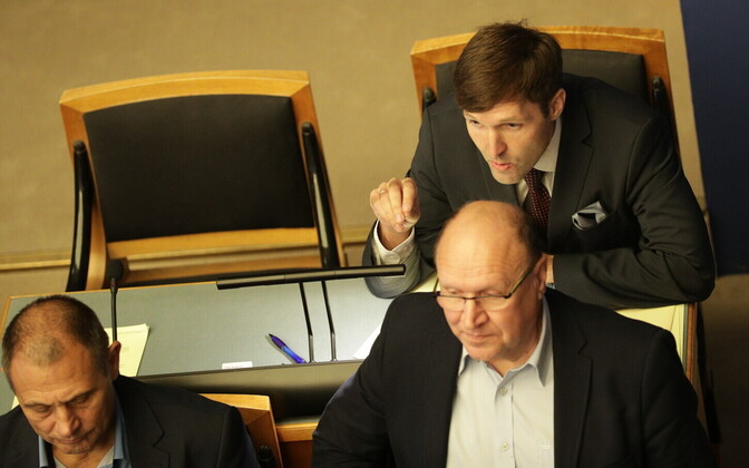 Members of the EKRE parliamentary group in the Riigikogu.