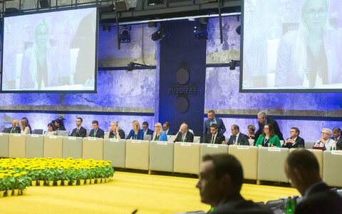 EU transport ministers met in Tallinn on Thursday and Friday.